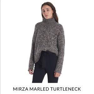 Naadam Mirza Marled Cashmere Turtleneck